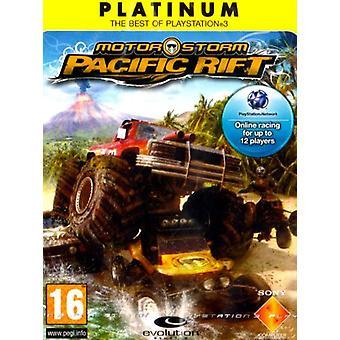MotorStorm Pacific Rift - Platinum editie (PS3)