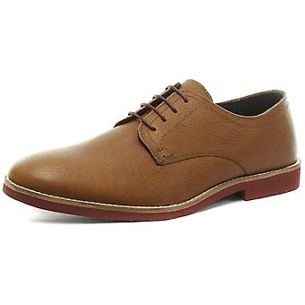 Red Tape Bromham Milled Honey Mens Lace Up Shoes
