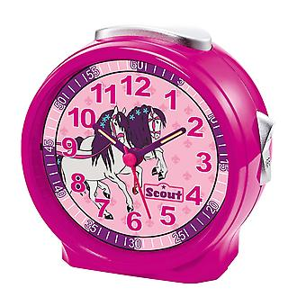 Scout girls alarm clock alarm girl of friends pink horse 280001071