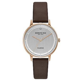 Kenneth Cole New York women's wrist watch analog quartz leather KC50010001