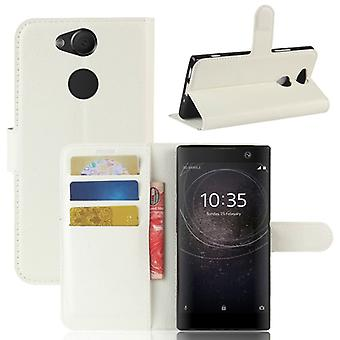Pocket wallet premium white for Sony Xperia XA2 protection sleeve case cover pouch new