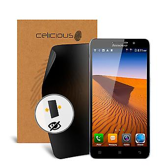 Celicious Privacy 2-Way Visual Black Out Screen Protector for Lenovo A616