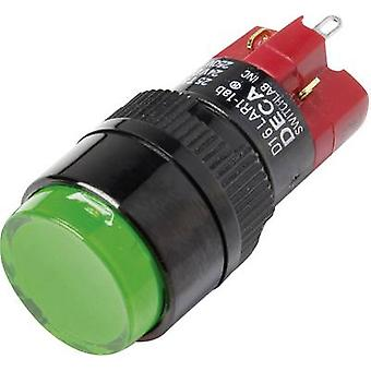 DECA D16LAR1-1abAG Pushbutton switch 250 V AC 5 A 1 x Off/On IP40 latch 1 pc(s)