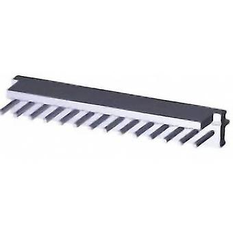 TE Connectivity Pin strip (standard) MTA-100 Total number of pins 14 1-640454-4 1 pc(s)