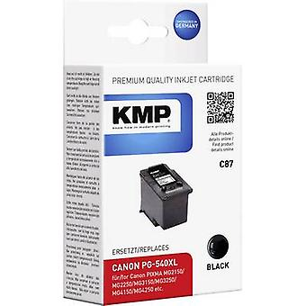 KMP Ink replaced Canon PG-540, PG-540XL Compatible Black C87 1516,4001