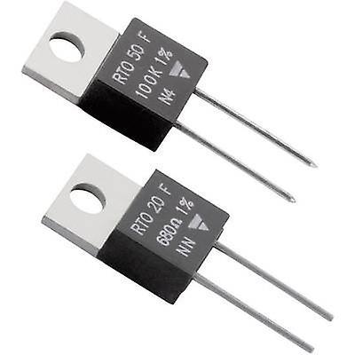Vishay RTO 50 F High power resistor 10 Ω Axial lead TO 220 50 W 1 % 1 pc(s)