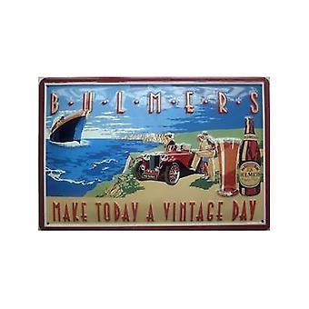 Bulmers Cider ''Vintage Day'' Embossed Steel Sign