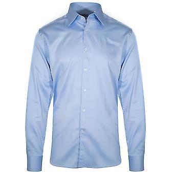 CC Collection Corneliani Corneliani Sky Blue Long Sleeve Shirt