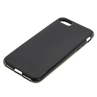 Handyhülle TPU Case für Handy Apple iPhone 7 Schwarz