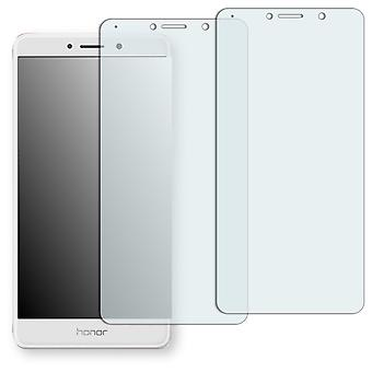 Huawei honor 6pcs screen protector - Golebo crystal-clear protector (deliberately smaller than the display, as this is arched)