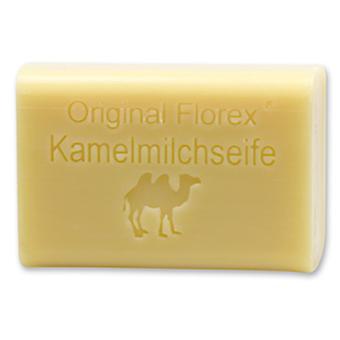 Florex Schafmilchseife - Kamelmilch - sehr vitaminreich mit viel Feuchtigkeit bei strapazierter Haut 100 g