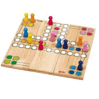 Hölzerne Ludo Spiel-Variable