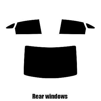 Pre cut window tint - Renault Talisman 4-door Saloon - 2016 and newer - Rear windows