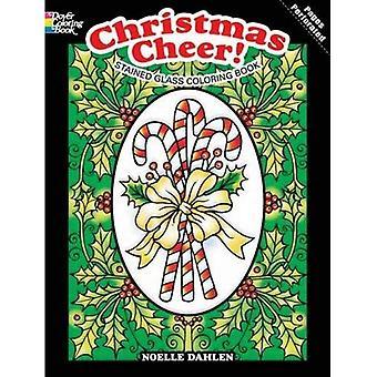 Julglädje! Målat glas målarbok