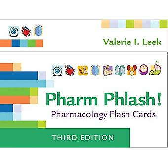 Pharm Phlash: Pharmacology�Flash Cards 3e