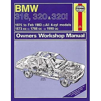 BMW 316, 320 & 320i (4-cilinder) (75 - VBO 83) Haynes reparatie handleiding (Haynes Service en reparatie handleidingen)
