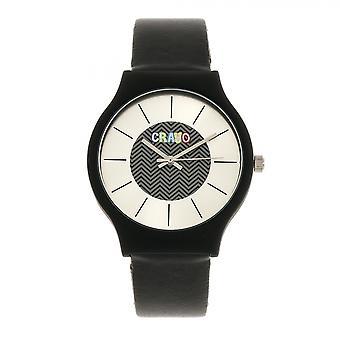 Crayo Trinity Armbanduhr - schwarz