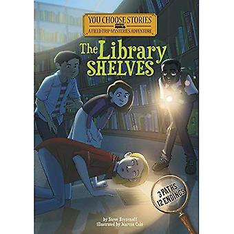 Los estantes de la biblioteca: Una aventura de misterio interactiva (elige historias: misterios de la excursión)