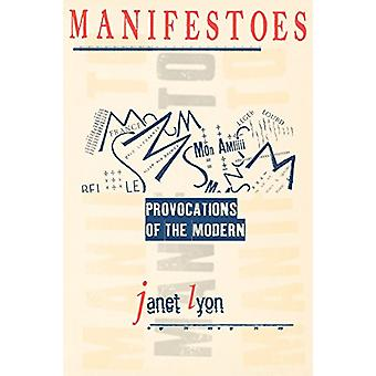 Manifestoes - Provocations of the Modern by Janet Lyon - 9780801485916