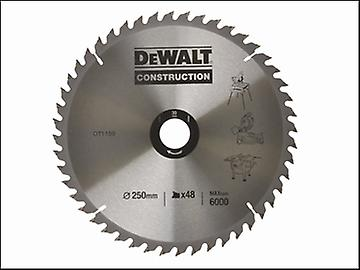 DEWALT Circular Saw Blade 250 x 30mm x 48T Series 30 General Purpose