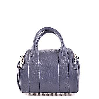 Alexander Wang Blue Leather Shoulder Bag