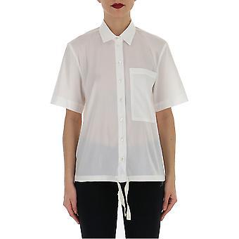 Semi-couture White Cotton Shirt