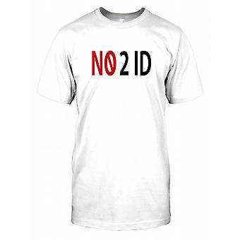 No 2 ID - No To ID - Conspiracy Mens T Shirt