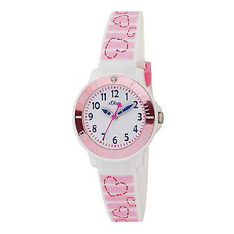 s.Oliver silicone band watch kids girl SO-3762-PQ