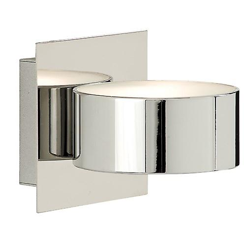 Searchlight 2691CC Contemporary Chrome Halogen Circular Wall Washer Light
