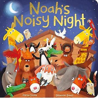 Noah's Noisy Night [Board book]