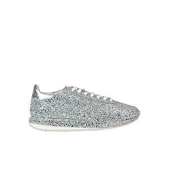 Ghoud Silver Glitter Sneakers