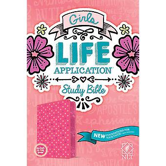 Girls Life Application Study Bible NLT - 9781414397795 Book