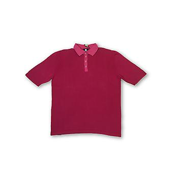 Strellson Swiss Cross short sleeved polo in pink