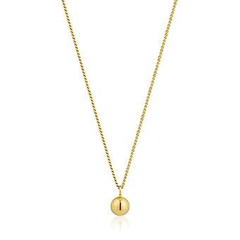 Ania Haie Gold Plated Sterling Silver 'Out Of This World' Ball Necklace