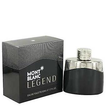 Montblanc legende door Mont Blanc Eau de Toilette Spray 1,7 oz (mannen) V728-490740