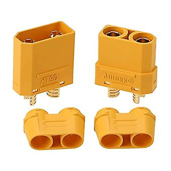 5 Pairs XT90H Male Female Bullet Connectors Plugs For RC Lipo Battery