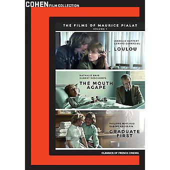 Films of Maurice Pialat 1: Graduate First / Mouth [DVD] USA import