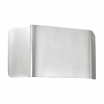 1 luz de pared interior ligera de aluminio, blanco