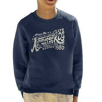 London Banter American Motor Services Kid's Sweatshirt