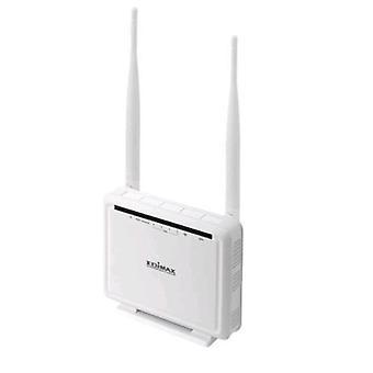 Edimax router adsl2/2 - 300n mimo 4 porte 10/100 wps