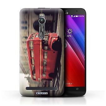 STUFF4 Case/Cover for Asus Zenfone 2 ZE550ML/Red Bus/London England