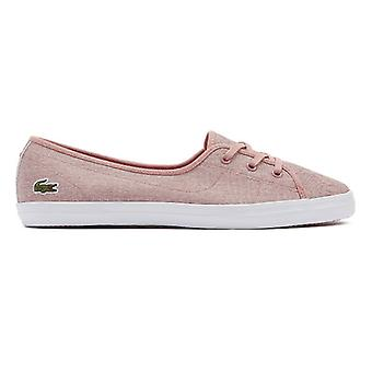 Lacoste Ziane Chunky 319 1 Womens Pink Trainers