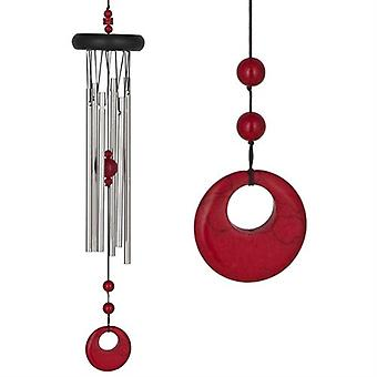 Red Coral Chakra Wind Chime Large from Woodstock