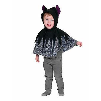 Bat Poncho Hooded Cloak Toddlers Batcape Carnival Halloween Animal Costume