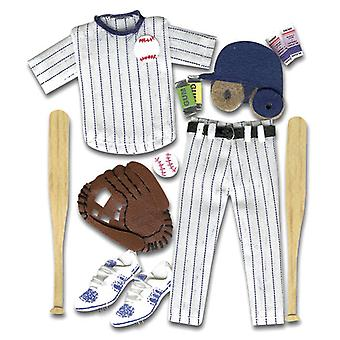 Jolee's Boutique Dimensional Stickers Baseball Spjb 066