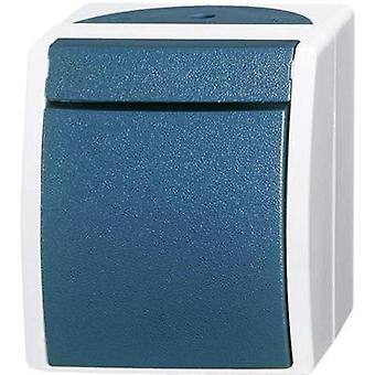 Busch-Jaeger Toggle switch Ocean (surface-mount) Blue-green 2601/6 W-53