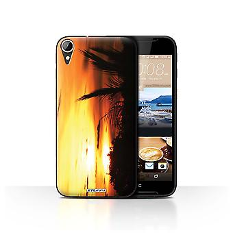 STUFF4 Tilfelle/Cover for HTC Desire 830/tre topper/Sunset natur
