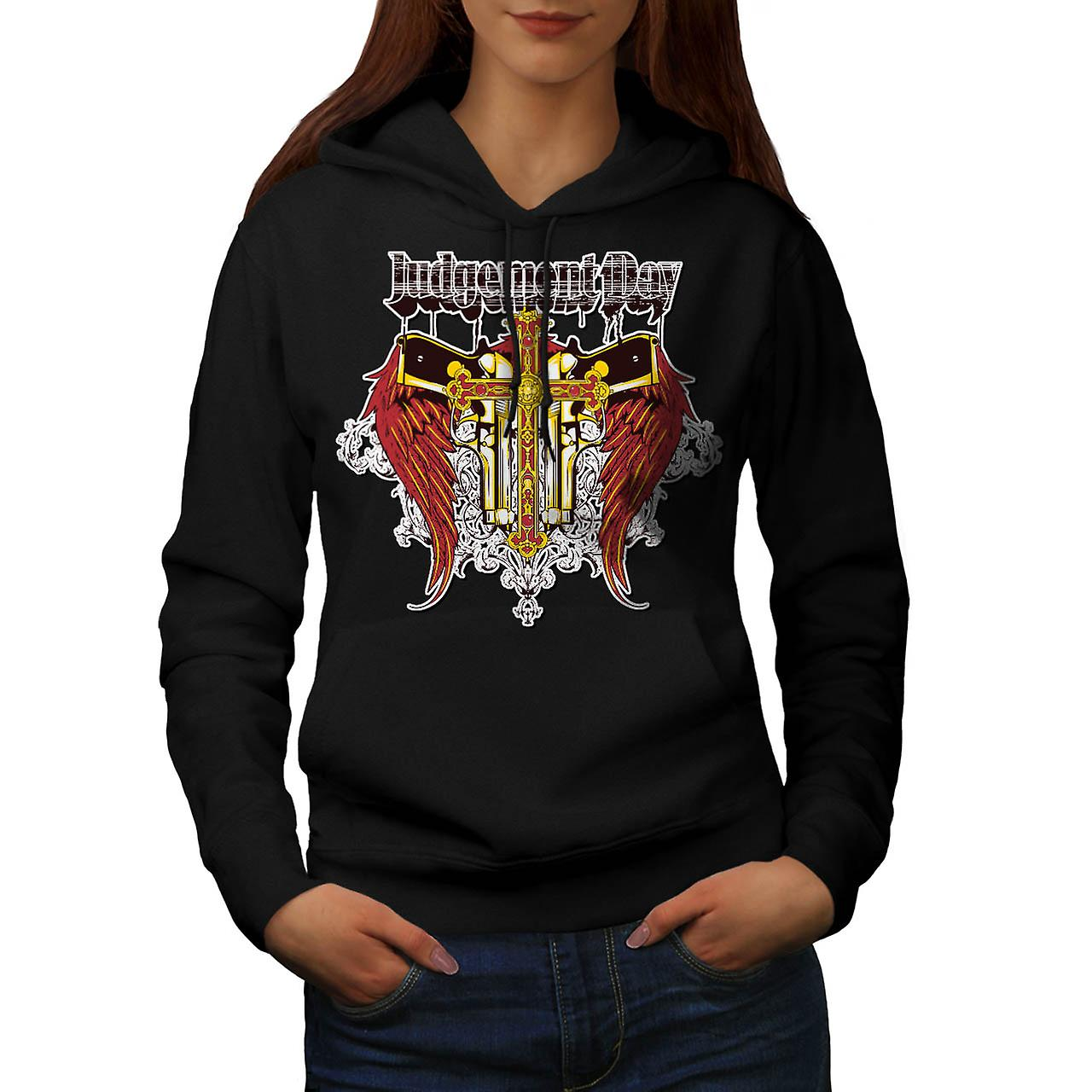 Judgement Day Hell Devils Lair Women Black Hoodie | Wellcoda