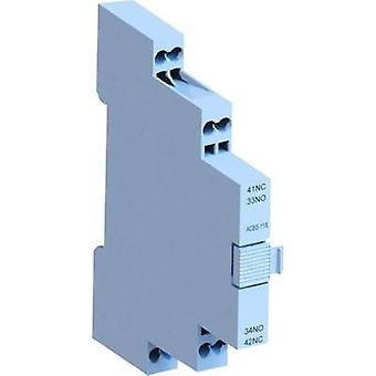 Auxiliary switch 10 A 1 maker, 1 breaker WEG
