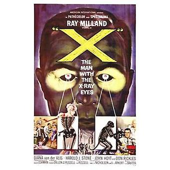X the Man with X-Ray Eyes Movie Poster (11 x 17)
